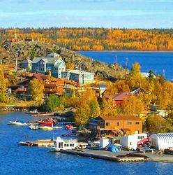 À Yellowknife, c'est une petite, mais belle ville