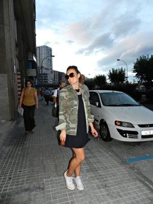 martaantolinez Outfit  militar casual zara vestido Primark camuflaje  Otoño 2012. Cómo vestirse y combinar según martaantolinez el 17-9-2012
