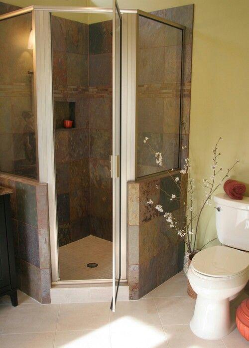 CUSTOM NEO ANGLE SHOWER DOOR MANUFACTURED BY COATAL. WWW.COASTALIND.COM