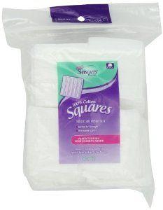 Swisspers Cotton Squares, 80 Count
