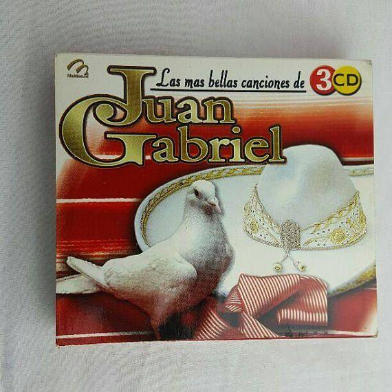 Las Mas Bellas Canciones De Juan Gabriel 3 Disc Collection