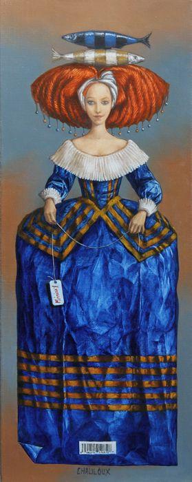 Catherine Chauloux  ~   Ménina