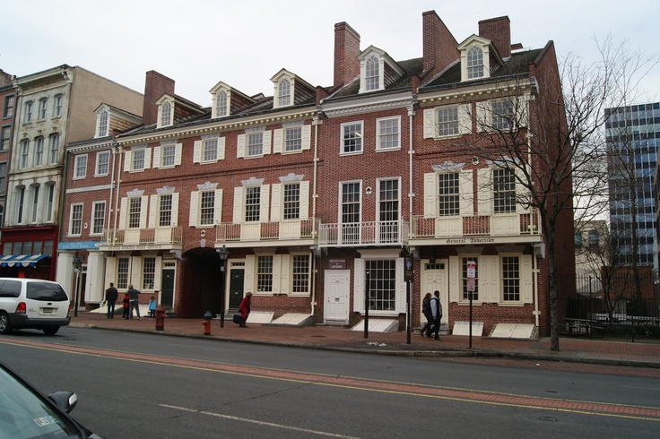 Franklin Court- the home of Ben Franklin
