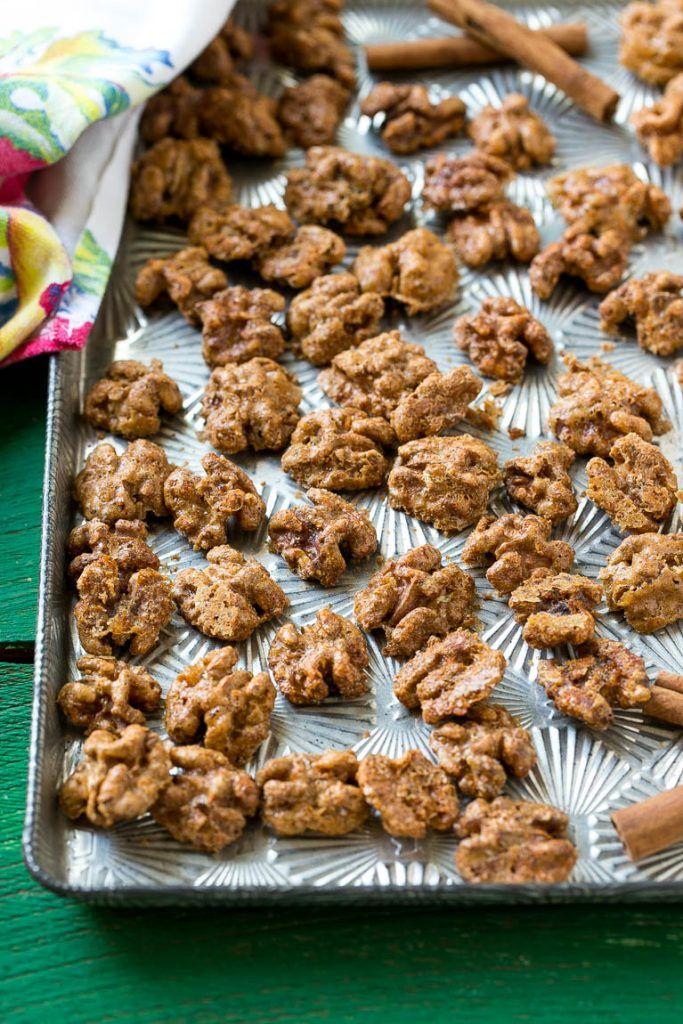 about Candied Walnuts on Pinterest | Walnut recipes, Glazed walnuts ...
