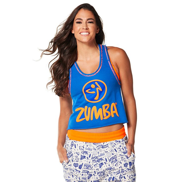 GET LOOSE IN THE CITY CROP TOP - SURFS UP BLUE ------------- Take a break from the grind in the Get Loose in the City Crop Top.  Featuring a soft French Terry fabric and slightly cropped silhouette, this top is a total showstopper. Zumba Tank.