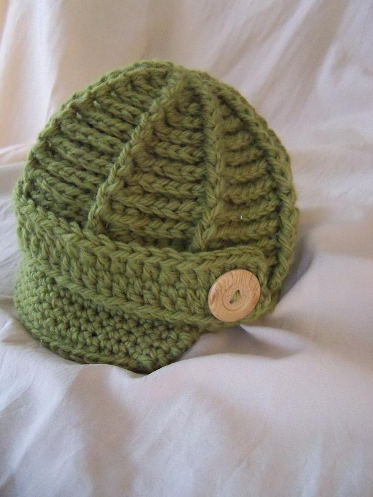 Crochet Newsboy Hat Pattern Baby Wipes