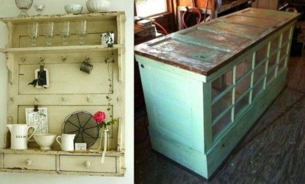Idées pour recycler vos vieilles portes