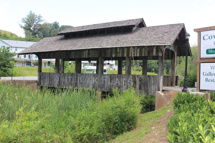 Bridge to the shops at the covered bridge in the arts and for Gatlinburg arts and crafts community restaurants