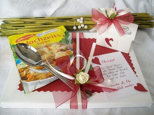 ... Hochzeit...Geldgeschenk/Geschenke* Eherezept  Produkte und Hochzeit