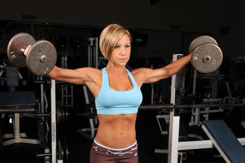 """Use Your Time In The Gym Wisely. """"Since you know that lifting pink dumbbells isn't going to get you a lean, sexy and fit body, let's discuss what you should be doing in the gym."""""""