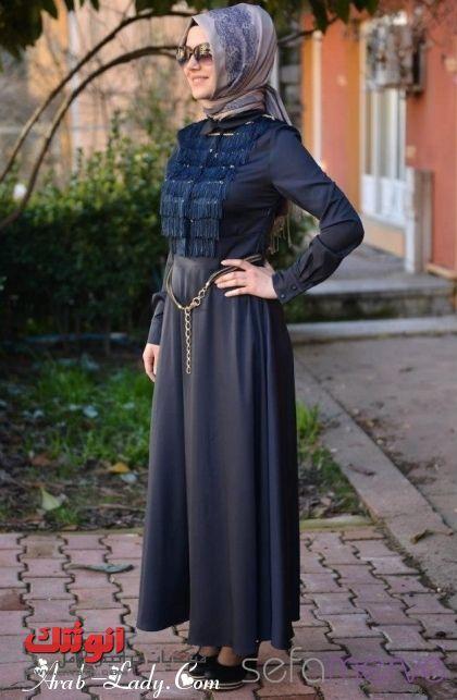 احدث أزياء محجبات، ملابس محجبات تركية ، لبس محجبات تركي