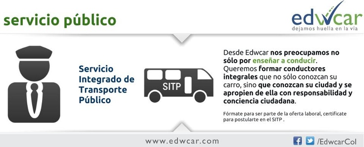 Licencia de conducción para servicio público.