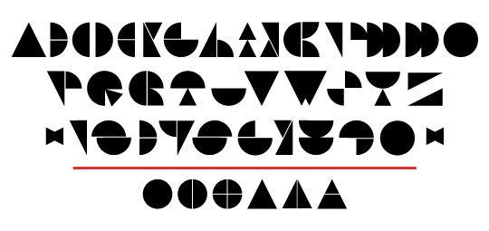 Modular Type by Alex Camacho, via Behance