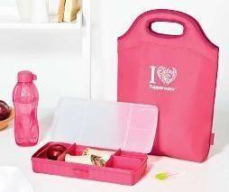 Tupperware Pink I Luv Tupperware Set