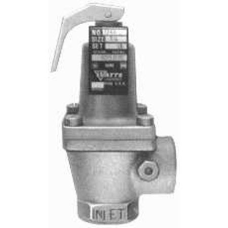 Pressure Safety Relief Valve #174A Bronze Body 3/4 inch 50 Psi