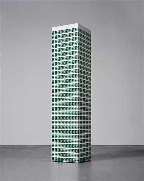 Julian Opie - Modern Tower