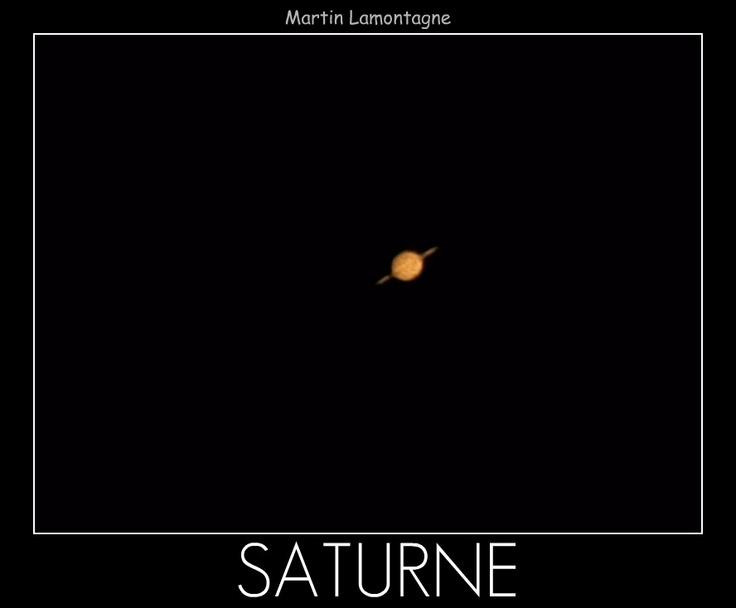 Saturne 2011  ORION + webcam