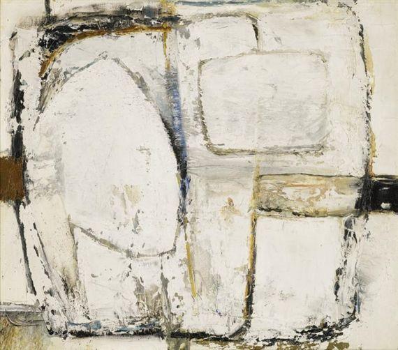 Paul Feiler - BOSKENNA GREY, 1963, oil on canvas on MutualArt.com