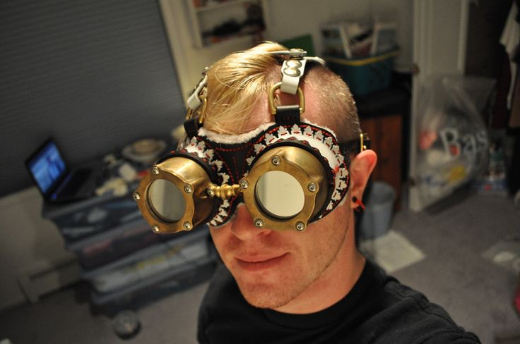 Steampunk Couture: CNC Goggles by gianteye http://thingiverse.com/thing:3448