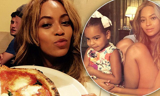 Beyonce takes a break from her vegan diet during family trip in Italy