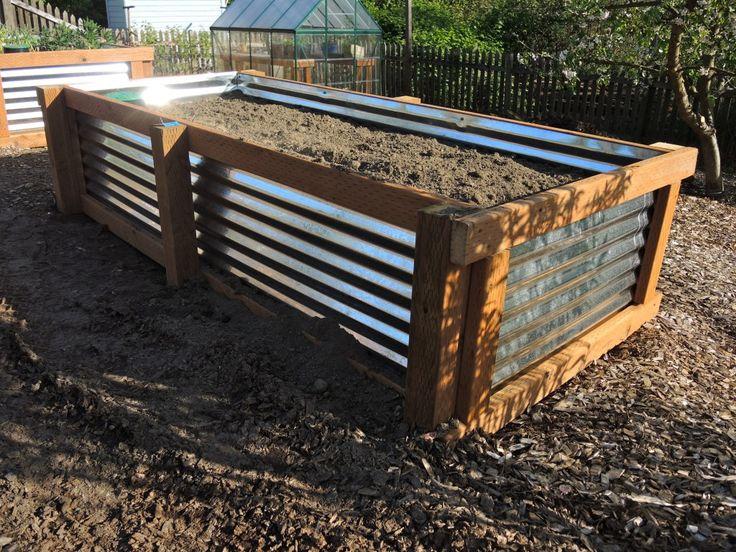 Raised Galvanized Garden Beds Just Built These Amazing 400 x 300