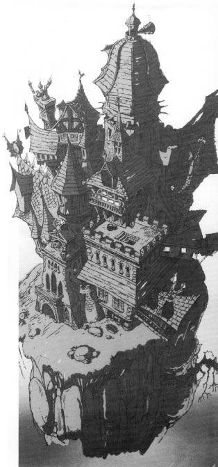 Castle Duckula drawing (1986)