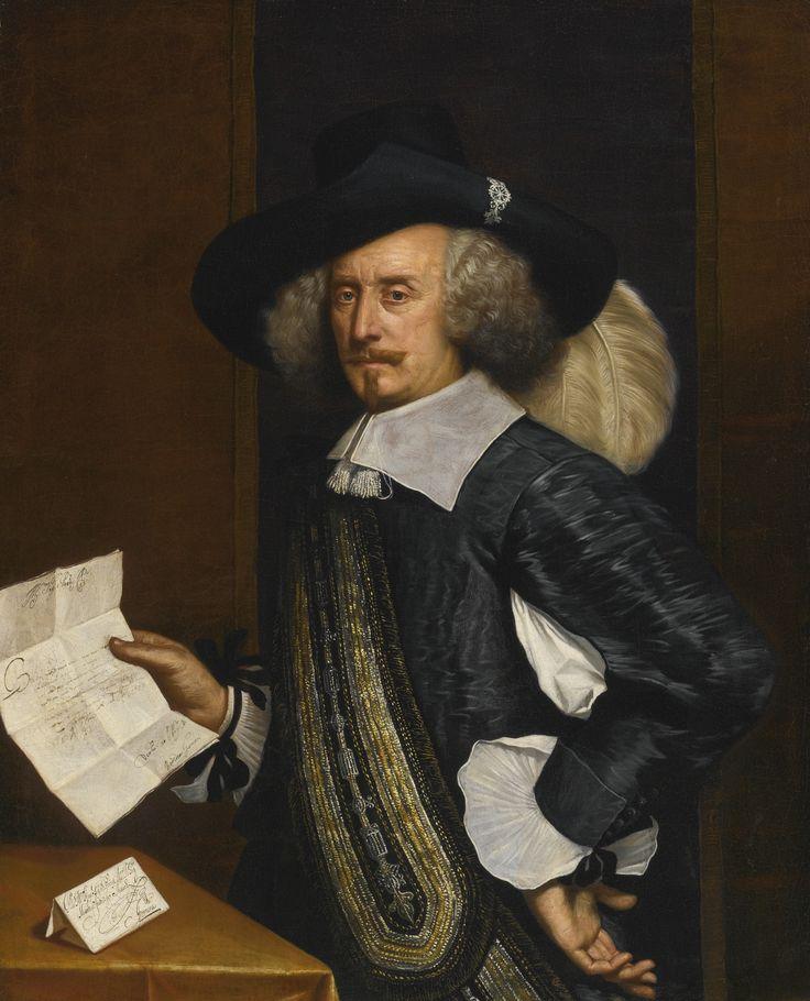 Benedetto Gennari (1633-1715)  — Portrait of Marchese Francesco Fiaschi,  1655 (1617x2000)