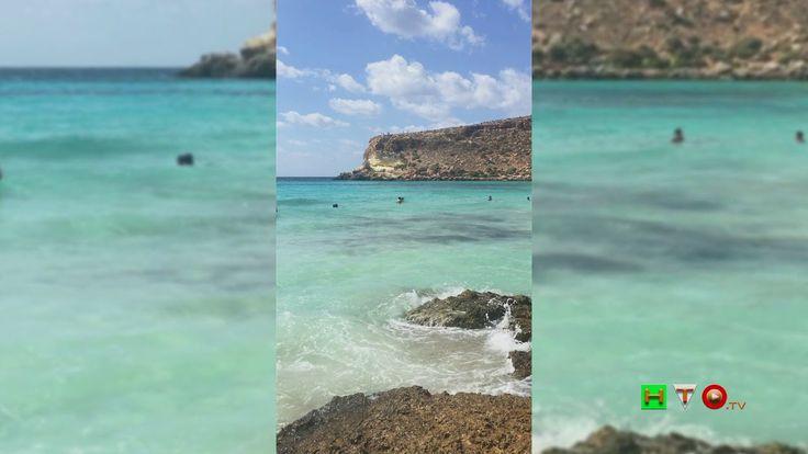 Lapedusa (AG), La natura incontaminata dell'Isola dei Conigli - www.HTO.tv