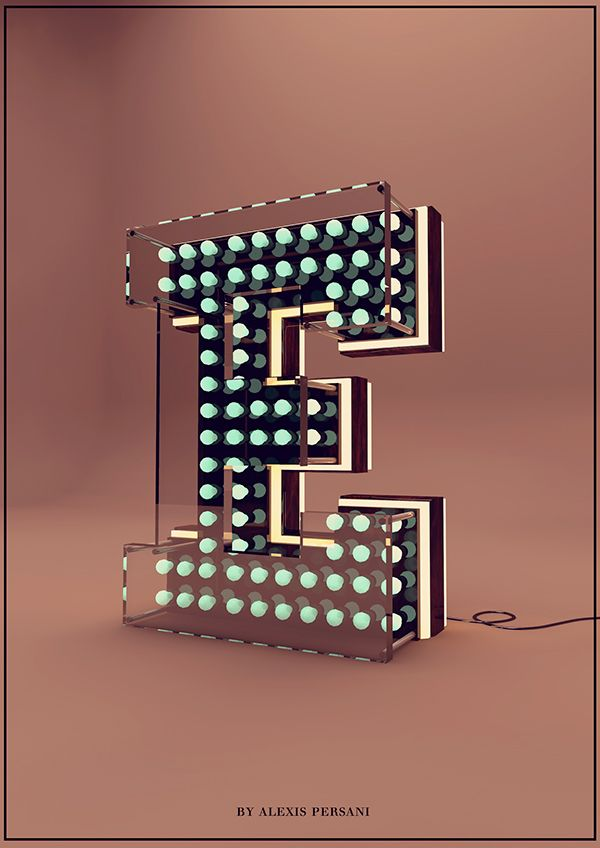 Creative Alphabet by Alexis Persani | Abduzeedo Design Inspiration