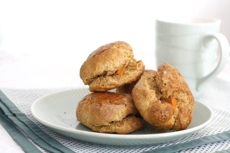 Gezonde scones met zoete aardappel