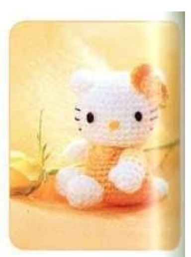 Tuto amigurumi : Mini Hello Kitty