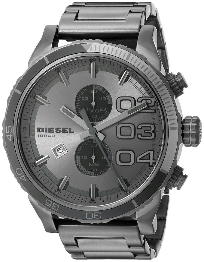 Diesel Men's DZ4314 Double Down Series Stainless Steel Watch