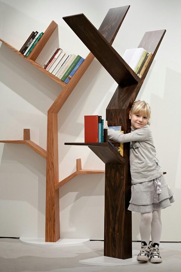 Boekenkast boom
