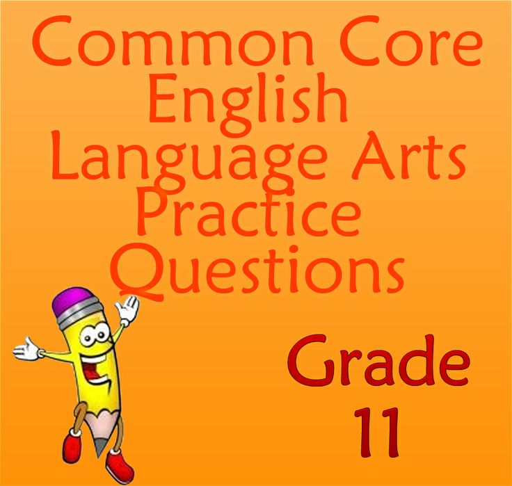 Check out these free Common Core English Language Arts practice questions for grade 11. These Common Core practice questions will get your 11th grade students set and ready for the Common Core exam!  #commoncore #languagearts