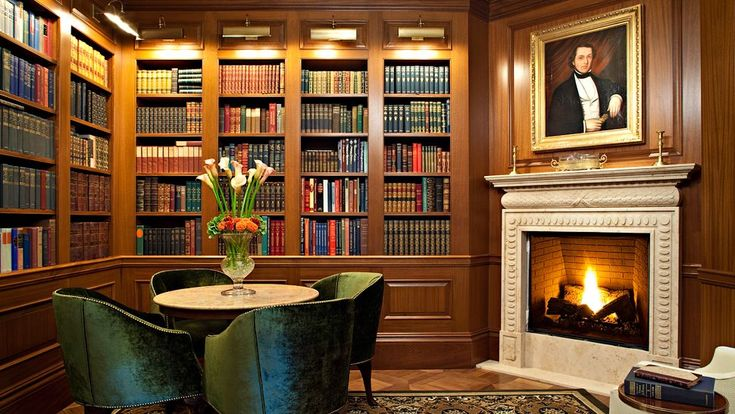 luxury interior interior designs furniture  Classic luxury home interior design: Home Libraries, Favorite Places, The Jefferson, Books Rooms, Jefferson Hotels, Home Interiors Design, Photo Galleries, Design Home, Luxury Hotels