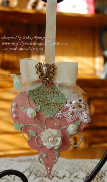French Heirloom Ornament by rosekathleenr - Cards and Paper Crafts at Splitcoaststampers