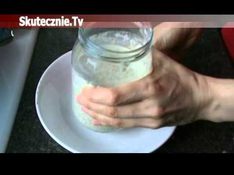 Jak zrobić zakwas do pieczenia chleba - YouTube