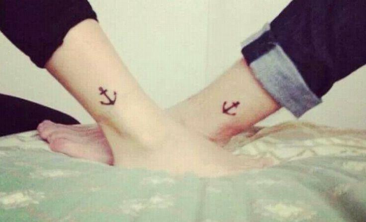Sister Anchor Tattoos Friend anchor tattoo tattoo