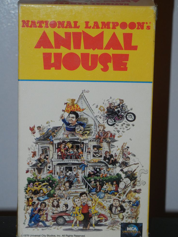 Animal House VHS Video Tape The Super 70's  John Belushi Kevin Bacon Thomas Hulce by GailsPopCycle on Etsy