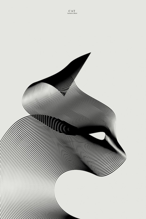 Animals in Moiré 3 par Andrea Minini - Journal du Design ☺ #toutoblog.unblog.fr aime ☺                                                                                                                                                      Plus