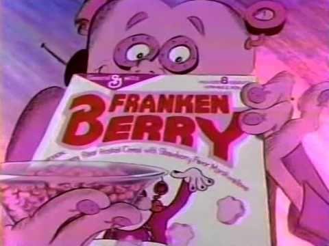 80's Ads: General Mills Frankenberry Cereal 1986