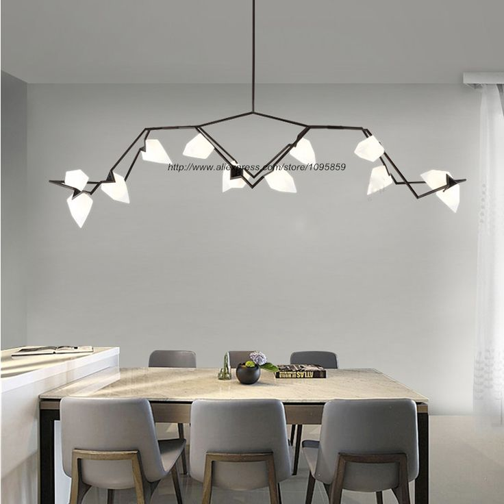 Free Shipping Modern Peach Branch Chandelier Light Lamp 2/5/8/12 LED G4 Bulbs Bedroom Ceiling Fixture Lighting