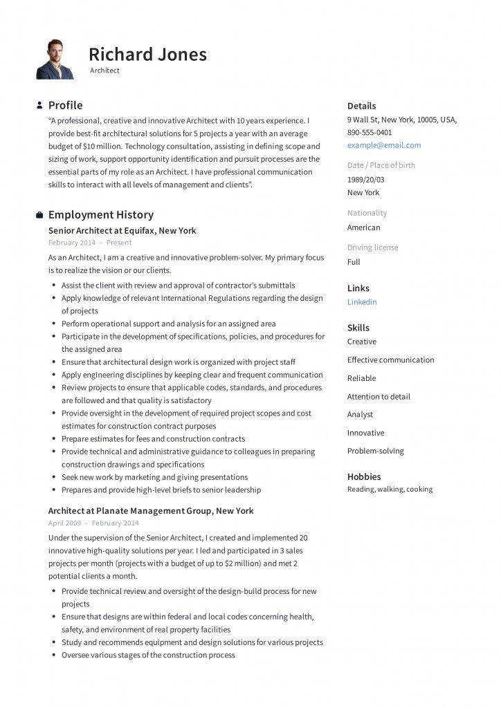 Sample Solution Architect Resume 2021 Architect Resume Architect Resume Sample Resume