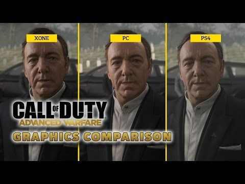 Awesome video from Gamespot! Call of Duty: Advanced Warfare - Graphics comparison.   Buy the PC Download at www.gamedownloadkeys.com/call-of-duty-advanced-warfare-pc-download