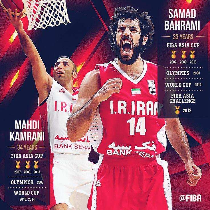 Iran basketball, Mahdi Kamrani, Samad Bahrami, sports