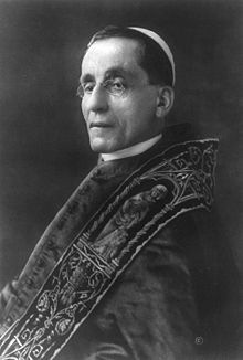 Benedict XV  Papacy began	3 September 1914  Papacy ended	22 January 1922  Predecessor	Pius X  Successor	Pius XI  Orders  Ordination	21 December 1878  Consecration	22 December 1907  by Pope Pius X  Created Cardinal	25 May 1914  Personal details  Birth name	Giacomo Paolo Giovanni Battista della Chiesa  Born	21 November 1854  Pegli, Kingdom of Piedmont-Sardinia  Died	22 January 1922 (aged 67)  Apostolic Palace, Rome, Kingdom of Italy