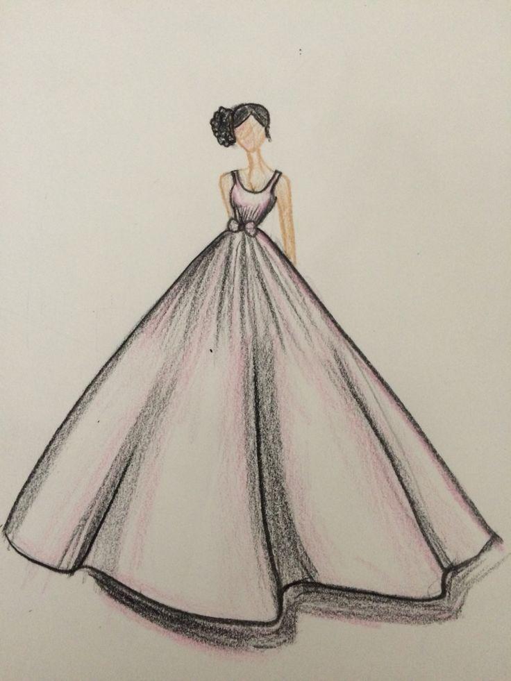 Ich Habe Das Gezeichnet Gezeichnet Moda Karalamalari Cizim Fikirleri Moda Cizimleri