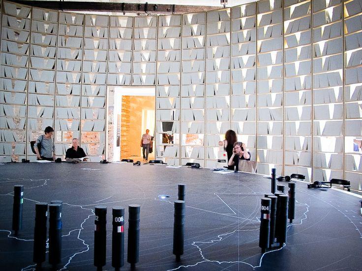 Opening Biennale architettura Venezia - Arsenale  photo by anna bertozzi