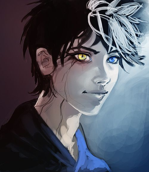 Nightmare sand infected Jack Frost from Rise of the Guardians