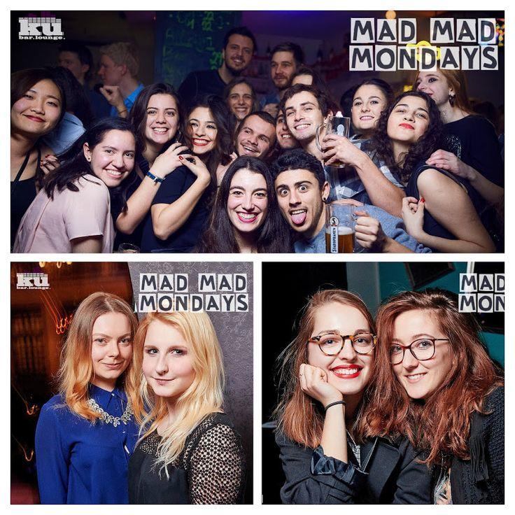 #madmadmonday the best student party in Prague at #kubarlounge